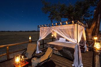 Kanana, Botswana,Outdoor Four-Poster Bed.jpg