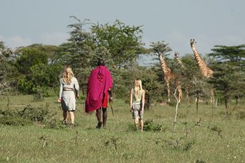 Cottar's 1920s Camp family safaris walking giraffes Stevie Mann.jpg