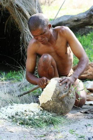 Not San people of botswana