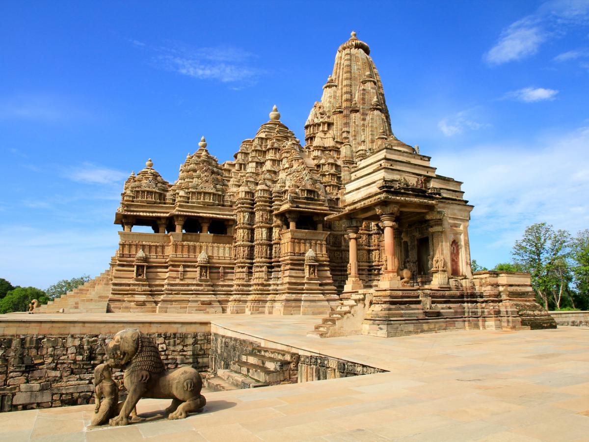 The astounding treasures of Khajuraho
