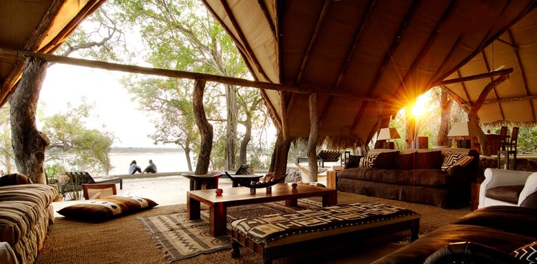 Tanzania Safari Holiday - Relaxing at Kiba Point Mess