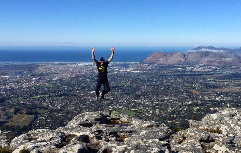 South Africa - Adventurous activities - Table Mountain Jump