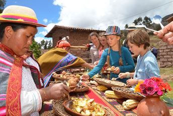Sacred Valley - family brunch at Misminay - source Condor Travel.jpg