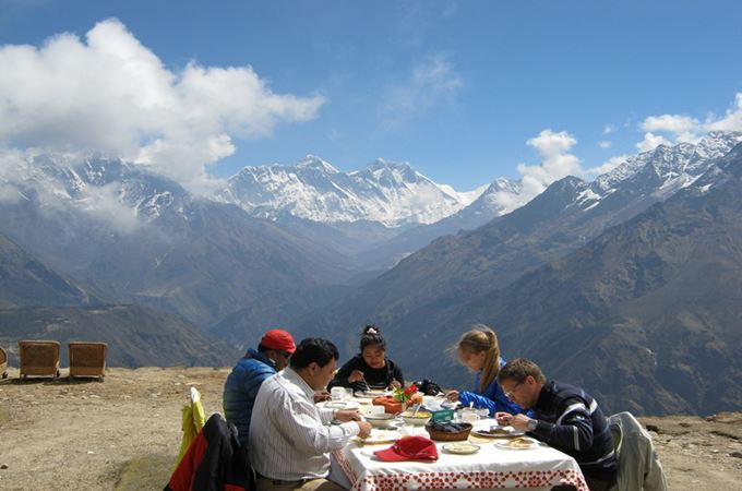 Asia - Nepal - Everest Base Camp - Breakfast.jpg