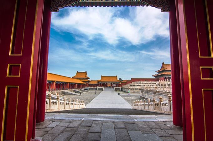 China - Privileged access - Chonghua Palace, located within the Forbidden City