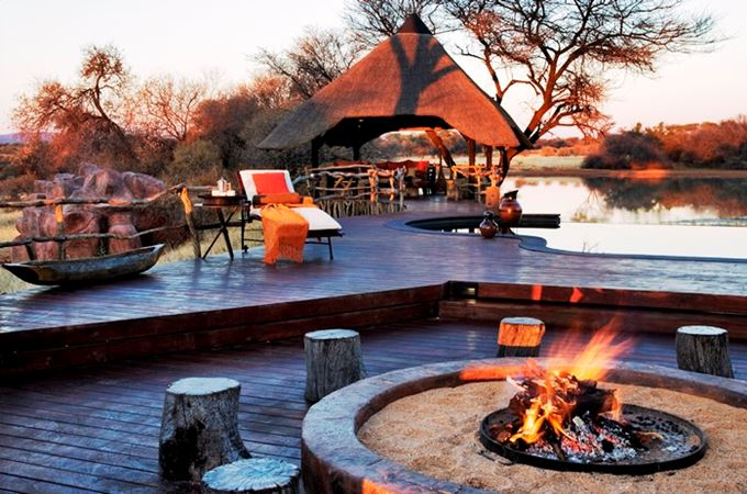 Okonjima - Villa - Namibia - Fire-pit - Out side cooking area.jpg