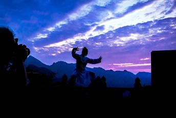 monk praciticng Kong fu during a dramatic sunset.jpg