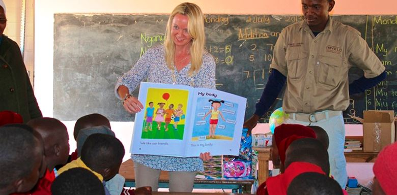 Zimbabwe - Imvelo Safari Lodges - Ngamo School - Library donations reading lessons - 6.jpg