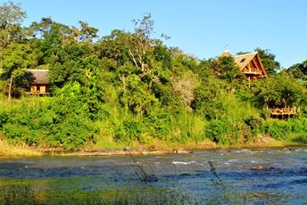 Malawi - Tongole Nkotakota Reserve - lodge from the river.jpg