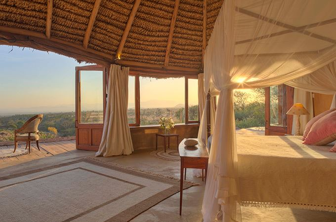 Lewa Wilderness Lodge Bedroom in Kenya
