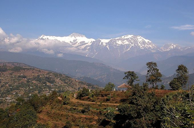 View of Annapurna Range