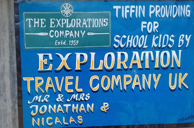 The Explorations Company and the Tiffin project in Nepal