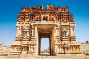 Temple in Hampi - India Ancient Landmarks