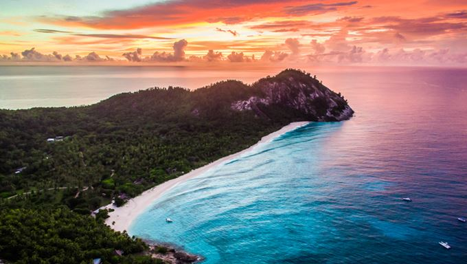 North Island Seychelles - aerial at sunset.jpg
