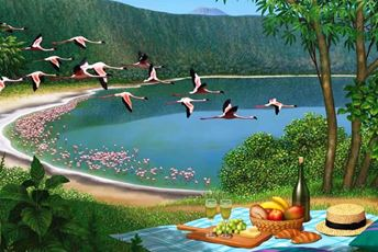 Flight of fancy Flamingos.jpg